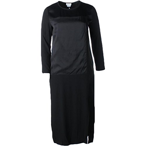 dkny black long dress - 1