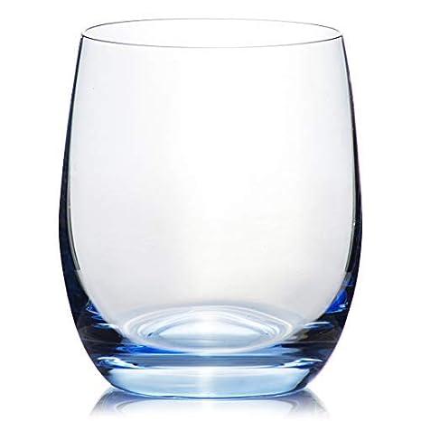 Estuche de 6 copas y vasos de Bohemia RAINBOW cristalino en 300 ml