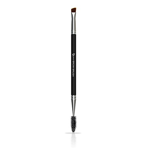 Duo Angled Eyebrow Brush Spoolie - Eye Brow Makeup Comb with Thin Angle Synthetic Bristle to Define, Shape and Blend for Perfect Brows Every Time, Works with All Cosmetic Fillers, Brocha Para Cejas (Eyebrow Applicator)