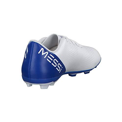 Niños fooblu Nemeziz 4 negbás Fútbol De Fxg Adidas ftwbla Messi 18 001 J Botas Unisex Blanco 6vqnAw