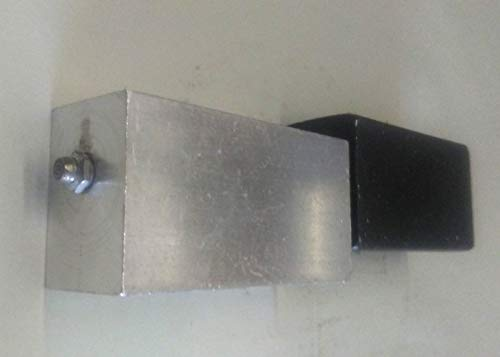 One Pair of 7'' Block Hinges (Choose from Aluminum or Steel) (Combo Alum/Steel) by Fittings Plus Inc (Image #3)