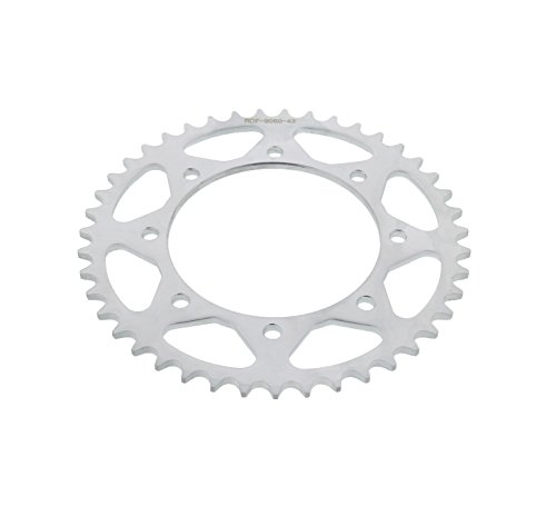 (Race Driven 43 Tooth Rear Sprocket Hardened Steel 520 Pitch for Kawasaki KL650 KLR650 KL KLR)