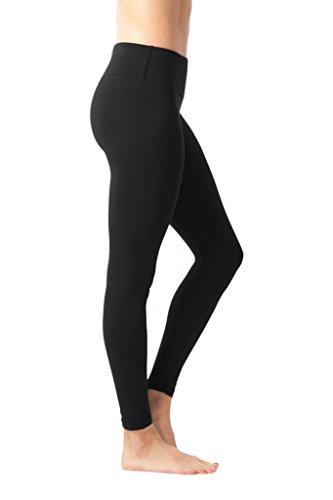 90 Degree By Reflex Power Flex Yoga Pants - Black - Large