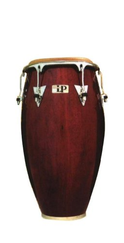 Latin Percussion LP Classic Model Wood 11-3/4'' Conga - Wine Red/Chrome by Latin Percussion