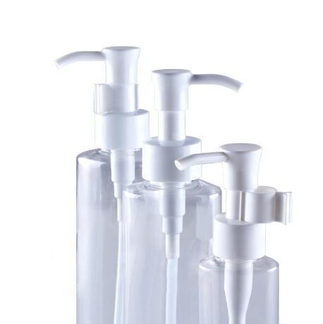 3pcs Claro Pet vacío tarros de plástico de botella de viaje con el dispensador blanco de bomba de loción para el champú acondicionado Loción Para artículos ...