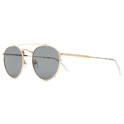 Crap Eyewear The Tuff Safari Sunglasses - Brushed Gold/Crystal - Crap Sunglasses