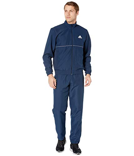 adidas Men's Club Tracksuit Collegiate Navy/White Large