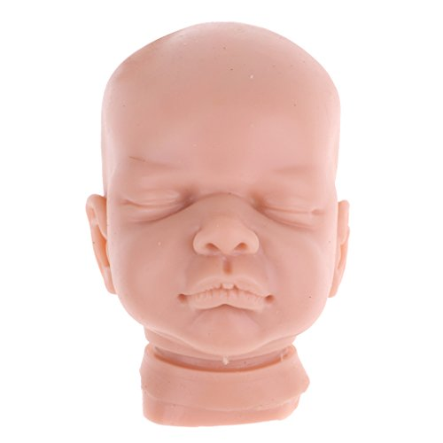 MagiDeal Unpainted 22inch Reborn Kits Soft Solid Silicone Head & 3/4 Arms &Legs Blank Mold Baby Doll DIY Handmade Kit by Unknown (Image #4)