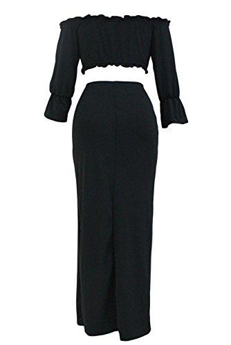 Silk Ruffled Yoke Dress - 6