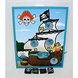 : Pirate Ship Bean Bag Toss Game