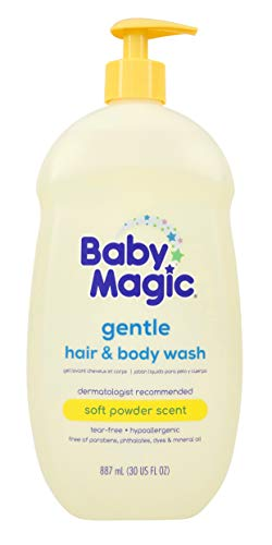 Baby Magic 2 In 1 Baby Wash & Shampoo, Calendula & Coconut, 30 Oz