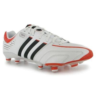 meet 263d0 f0173 adidas Adipure 11pro TRX FG Zapatos de Fútbol de levas Hombre, Modelo  discontinuado Negro Blanco Rojo Talla UK 5.5    38 2 3  Amazon.es  Deportes  y aire ...