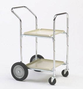 picture of Charnstrom Two Shelf Compact Office Cart (M234)
