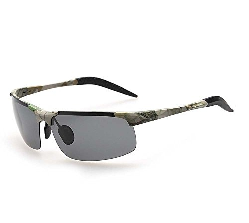 Arctic Star Riding Fishing polarized sunglasses driving mirror (Camouflage Frame Grey - Ray Camo Bans