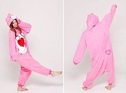 Amazon.com: Care Bears Adult Unisex Animal Kigurumi Cosplay Costume Pajamas Onesies (S): Clothing