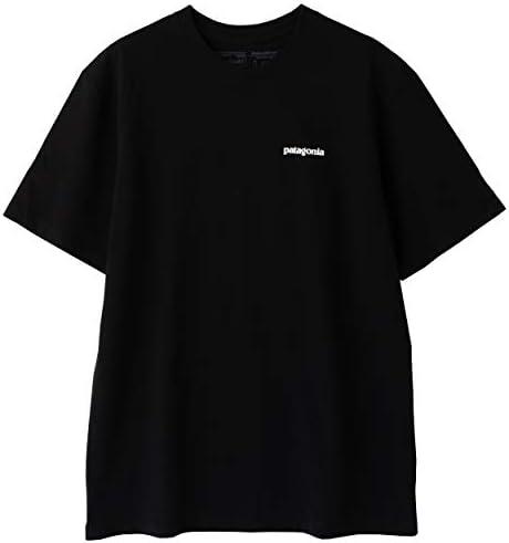 [パタゴニア]Patagonia Men's P-6 Logo Responsibili-Tee メンズ P-6ロゴ レスポンシビリティー 39174 BLACK (USサイズ) [並行輸入品]