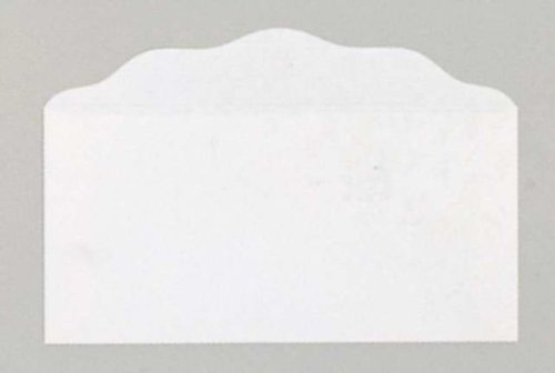 Gift Offering Envelope - Bill Size Blank Offering Envelopes White: Package of 100