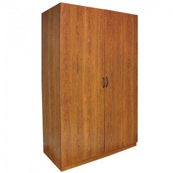 Ameriwood Home Kendrick Wardrobe Storage Closet (Brown Oak)