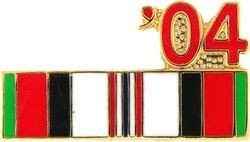 MilitaryBest 2004 Afghanistan War Campaign Ribbon Pin