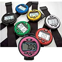 Optimum Time Ultimate Event Watch (Choose from a range of colours) - For acurate cross country times - Large clear LCD display screen, compact & comfortable with alarm feature