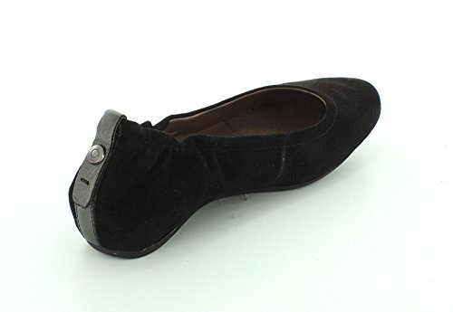 Women's Earthies Earth Black Suede Tolo Bffxp5wg6n