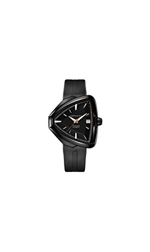 Hamilton Ventura汉密尔顿 Elvis80 Automatic Black Dial Black PVD Mens Watch