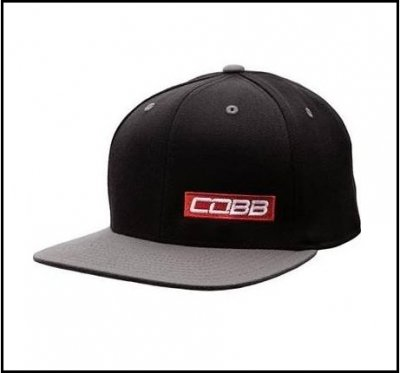 Cobb Tuning CO-CAP-RED-BAR 2-Tone Snapback Cap