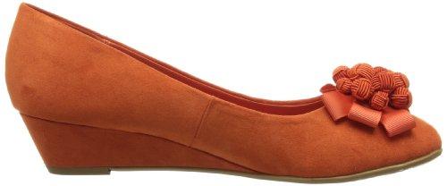 Lunar Flv558 - Sandalias de Vestir de otras pieles mujer Naranja - naranja