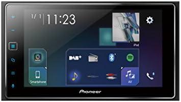 Pioneer SPH-DA130DAB Autorradio Multimedia Negro