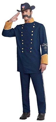 Forum Novelties Union Officer Costume, Blue, One -