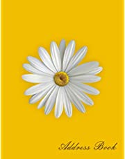 Address Book: Address Books Large Print For Women|Address Book Large Print For Seniors|Telephone Email Address Book|Personalized Address Books|Beautiful Designed Address Books|Easy To Use For Anyone|Alphabetical Order|Flower Cover Designed: 108 Pages