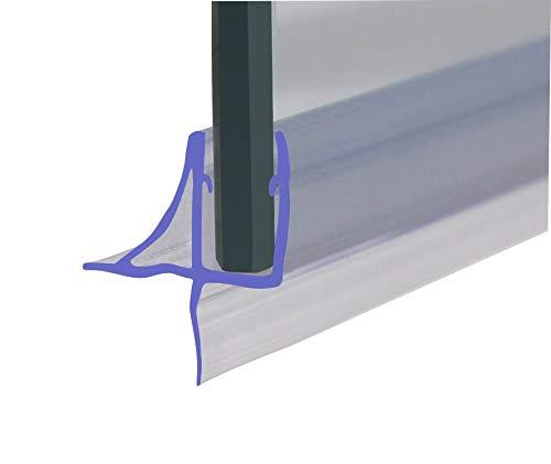 fino a 11/mm di distanza 870/mm di lunghezza design unico Guarnizione per schermo protettivo doccia//vasca per vetro di 4-6/mm HNNHOME