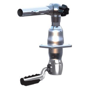 Taco Marine Silver Standard GS-2801 Grand Slam 2801 Mount with 30° Offset Handle for 1-1/2