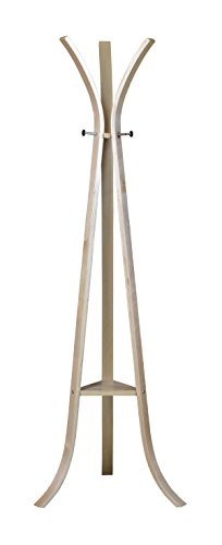 Niche Modern Mia Coat Rack, 69-Inch,Natural Bentwood Coat