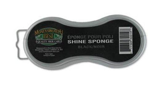 Moneysworth   Best Instant Shine Sponge  Black