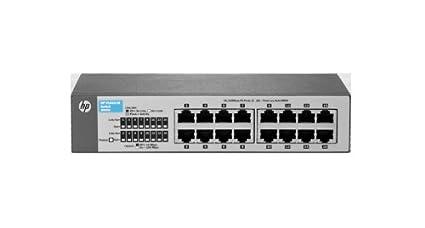 HP ProCurve 1410-16G Ethernet Switch - 16 Ports - 16 x RJ-45 -  10/100/1000Base-T
