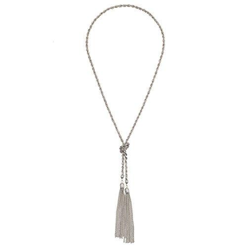 Black Tassel Necklace - OS / BLACK I Saw It First RY0gjjUiX