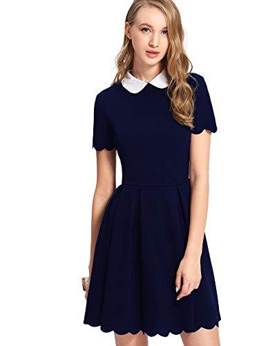 peter pan collar dress xs - 1