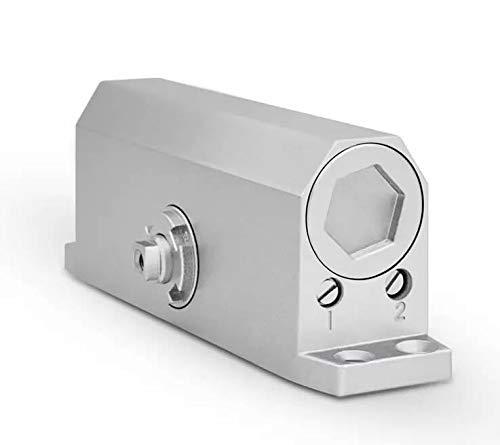 Mini Mexx Fire Door Hydraulic Buffer Door Closer,for 65kg-85kg Door,Strong and Sturdy,Adjustable Strength,Protect fram, Door Hardware