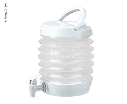 Wei/ß Farbe Camp4 Faltbarer Wasserspender 3,5 Liter