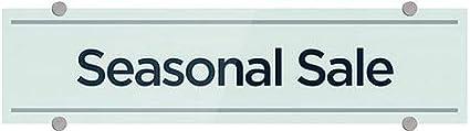 CGSignLab 24x6 5-Pack Seasonal Sale Basic Teal Premium Brushed Aluminum Sign