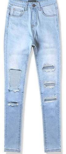 Denim Vita Cotton Bobo Pants 5 Elastico Stretch Stre 88 Jeans In Donna Stlie Unique Blau XpAwnR8qA