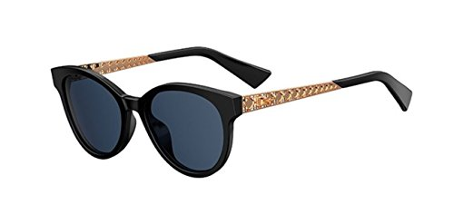 Authentic Christian Dior DIORAMA 7 S 26S/KU Black Gold Copper - Diorama Sunglasses 7