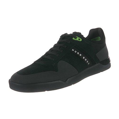 Hugo Patron Mens Plume Tenn Sdhf Sneakers 50322357-001 Noir