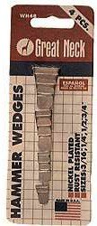 Great Neck WH4B Steel Hammer Wedges (4 Pack)