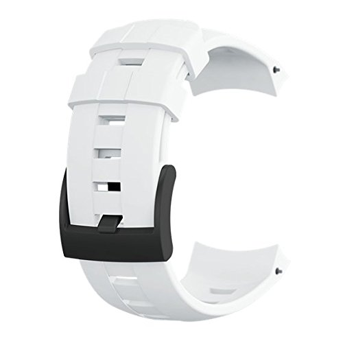 Suunto Ambit3 Vertical Silic Strap - SS022005000 (White - NS) by Suunto