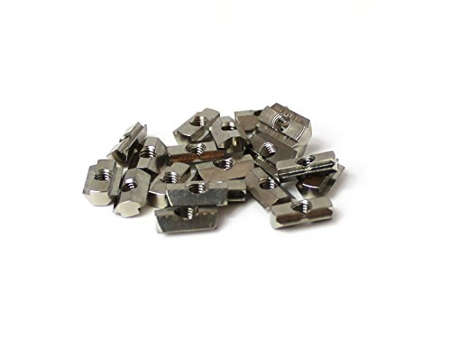MakerBeam 25 pieces T-slot nuts inc screws