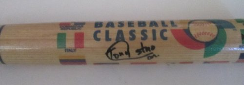 Team Cuba Tony Castro (Son of Fidel Castro) Autographed Hand Signed 2006 World Baseball Classic Logo Bat with Proof Photo of Signing and ()