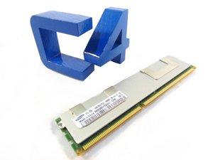 HP Genuine 512MB PC3200 400Mhz DDR CL3 ECC SDRAM Memory Module Proliant BL35p BL25p BL45p Server Blade DL385 DL585 - New - 378913-001 ()