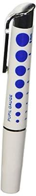 Dixie Ems 1800302-P Reusable LED Diagnostic Penlight with Pupil Gauge